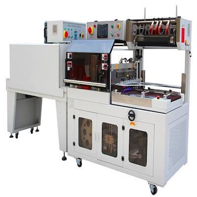 封切收縮機_全自動套膜封切熱縮膜機_盒子L型封切熱收縮包裝機