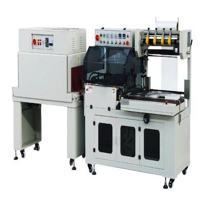 塑料薄膜熱收縮機_熱收縮包裝機_袖口式封切薄膜熱縮包裝機